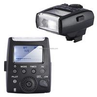 Mcoplus LCD TTL Camera Flash Light MK-300S For Sony SLR Cameras & Micro-Camera A7 A200 A300 A6000 NEX-3 NEX-5 NEX-6 with Adapter