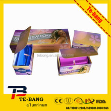 Hairdressing Aluminium foil with color box and cutter/ metal blade