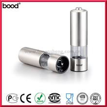 Stainless Steel Electric Salt & Pepper Mill