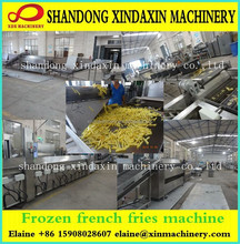 Full automatic new condintion frozen potato chips machine for sale