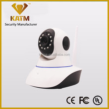 KATM Wifi Wireless IP Robot Camera supports Mobile Phone and Email