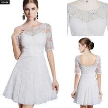 Dorisqueen online shopping cheap white party cocktail dress