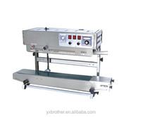Continuous bag sealing rice bag sealing machine