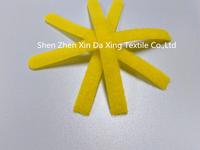 Garment alphabet for handkerchief magic hook and loop strap tie