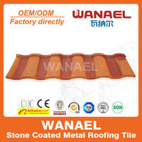 Good quality roofing corrugated sheet roman tile for hotel