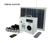Hot sale portable home lighting solar panel 10W 15W 20W 25W 30W 40W 50W 60W with FM solar radio and solar fan