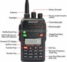 WOUXUN KG-UVD6 2M-70CM handheld two way radio