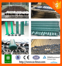 Steel Fence posts and fence accessories (metal and plastic)
