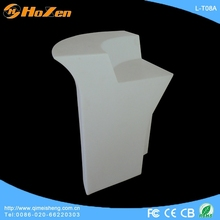 Supply all kinds of LED table bracket,black and white coffee LED table