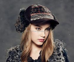 winter ear muffs,Faux Fur Ear Flap Hat , fashion trapper russian fur hat