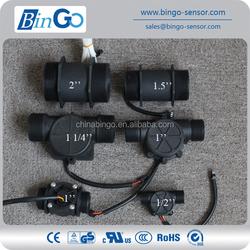 1/2'', 3/4'', 1'', 1.5'',2'' water flow sensor, flow sensor for liquid