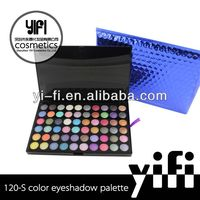 2013New arriaval!Pro120S ultra shimmer eyeshadow palette french cosmetics brands