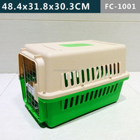 48.4x31.8x30.3 CM , PP pet cage carrier kennels, eco-friendly & stock Pet products