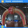Custom event advertising arch inflatable rainbow arch