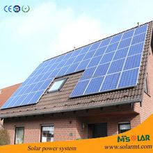 MW grid-tied solar energy system solar power plant 1mw