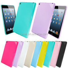 Colorful Soft TPU Back Case Cover For Ipad Mini