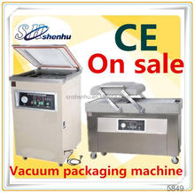 2015 semi automatic vacuum forming packing tray machine for food packaging SH-325