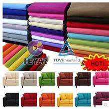 upholstery microfiber flock sofa fabric