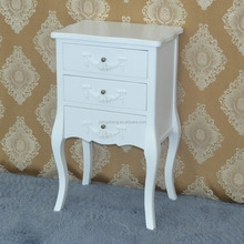 french provencal wooden white drawer chest furniture