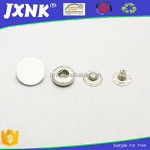Custom snap button ring for garment accessories