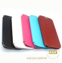Newest Style PU Leather Flip Case Cover for Samsung Galaxy S4