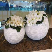 flower pot,fiberglass indoor&outdoor decorative flower pots