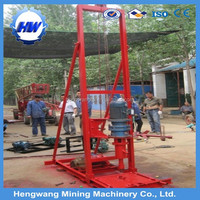 HW80 core drilling machine for hard rock & small sample drilling rig