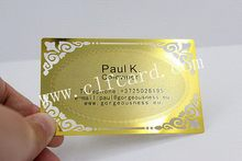 Branded best-selling rose golden stainless steel card