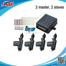 Super quality 2 masters, 2 slaves center lock for car with big actualing force