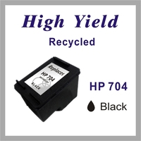 Re-manufactured Ink jet Cartridge for HP 704 Black / Color
