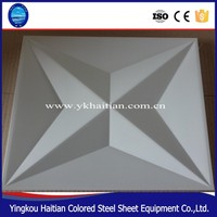 emerging market decorative material 3d wall panel