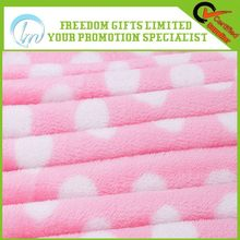 Alibaba china best sell coral fleece blanket with balls