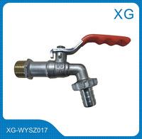 Long handle brass water tap/brass bibcock/water faucet for kitchen/bathroom/garden