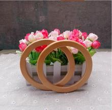 inner circle 10.5cm small and exquisite three colors round wholesale handmade wooden bag handles