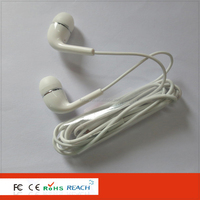 Factory directly offer plastic deep bass earphone for phone/computer/mp3