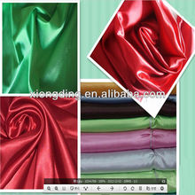 2012 new design fabric/ glazed pearl satin fabric