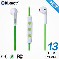 OEM/ODM factory cheap earphone neckband setero wireless headphone wholesale wireless headset mobile phone accessories