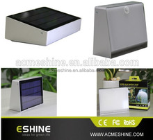 Waterproof IP65 Led Wall Mounted Outdoor Solar Lights Led For Garden