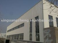 long-span light steel structure building warehouse design and installation