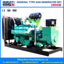 200KW Natural Gas/Biomass Generator in Stock
