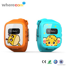 SOS Function Remote GPS Tracking Hand-free Digital Kids Smart watch with Real-time GPS Monitoring