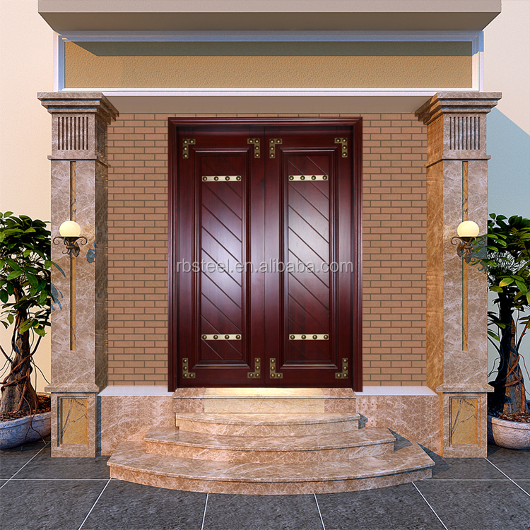 Luxury Main Door Wood Carving Design Carved Wooden Dorr