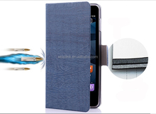 2015 new products geniune leather case for Nokia 920 factory price fold stand