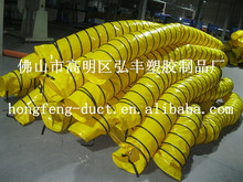 high temperature plastic pipe and flexible duct for chmical laboratory