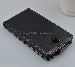 Luxury business style leather smart flip case cover in Dongguan