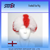 Popular colourful football game fan wig Promotional Afro Wig
