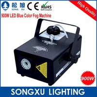 professtional 900w led fog machine with blue color