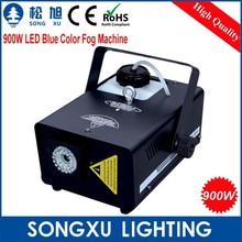 professtional 900w led fog machine with blue color