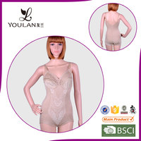 Breathable Beautiful Conjoined toning custom girdles and body shapers