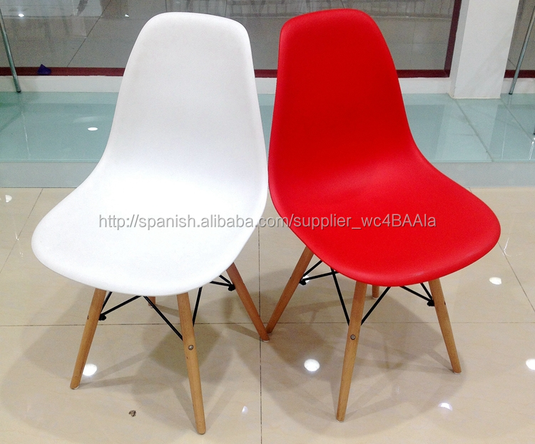 Diseño Contemporáneo Plástico Eam Silla-Sillas para la Sala de Estar ...